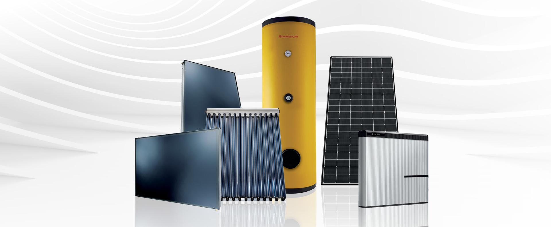 i prodotti immergas legati al fotovoltaico